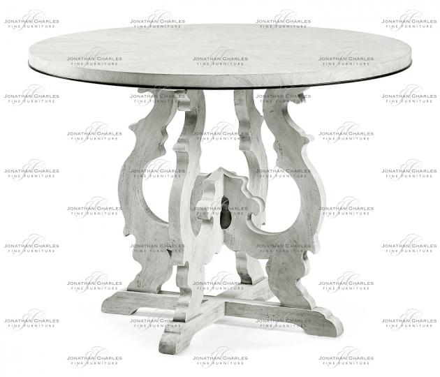 small rushmore Grey Mahogany Centre Table