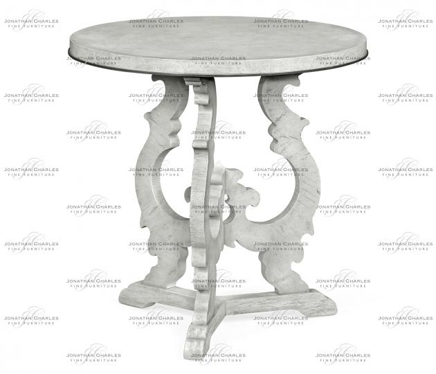 small rushmore Grey Mahogany End Table