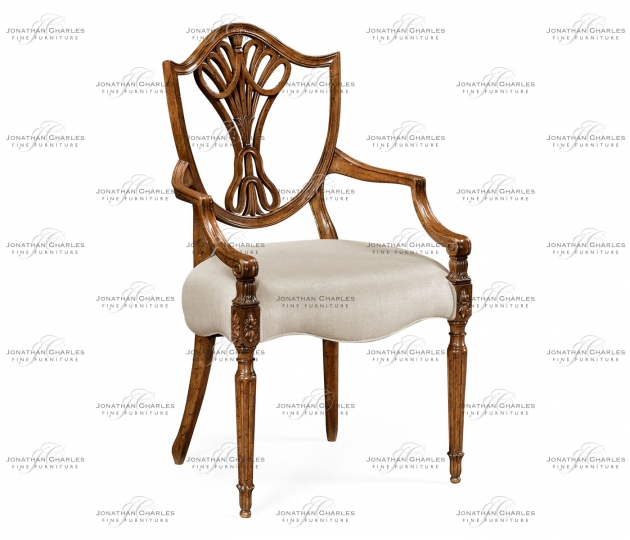 small rushmore Brompton Shield Back Arm Chair