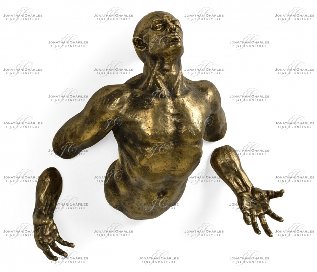small rushmore Anitque Brass Floating Man