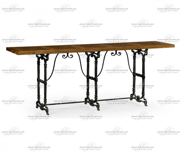 small rushmore Caledonian Daniella & Iron Console Table