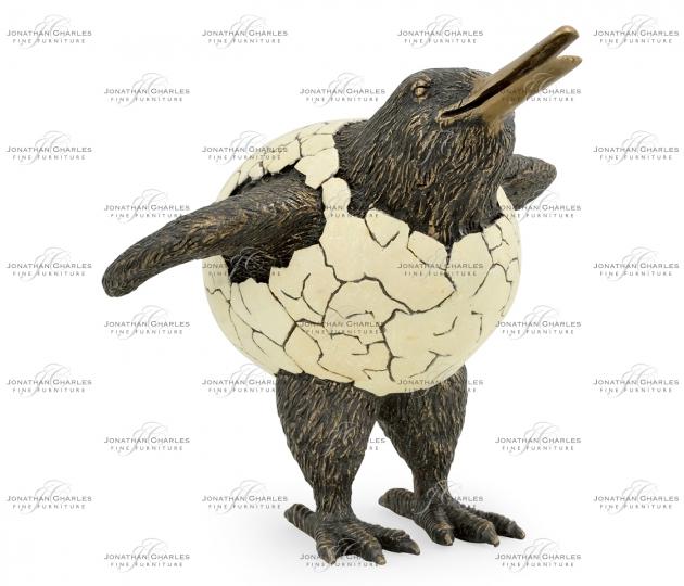 small rushmore Antique Dark Bronze Kiwi in Broken Eggshell