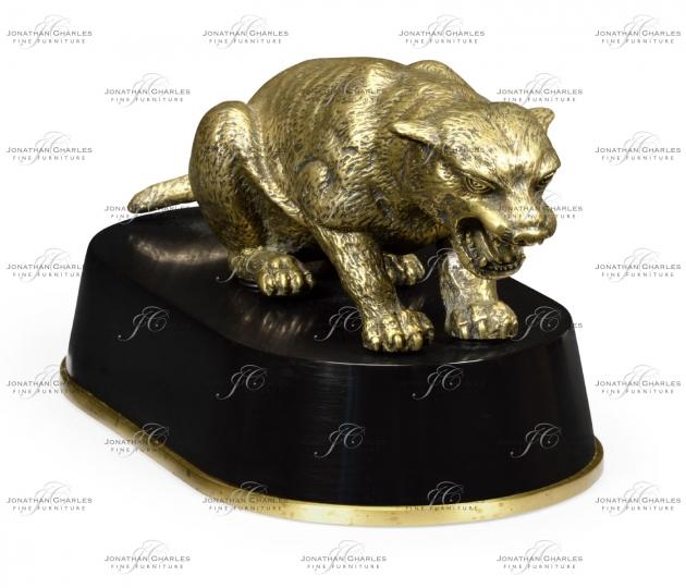 small rushmore Antique Bronze Cougar