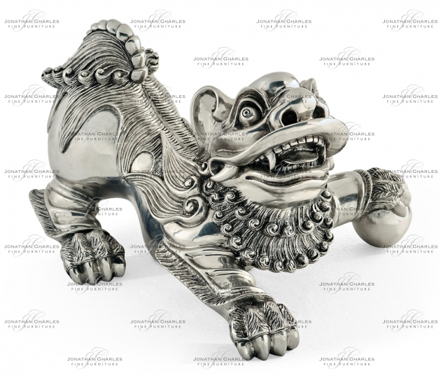 small rushmore Antique Stainless Steel Foo Dog