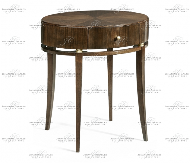 small rushmore Berkley Oval Bedside Table
