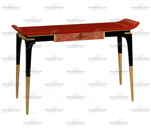 small rushmore Emperor Red Console Table
