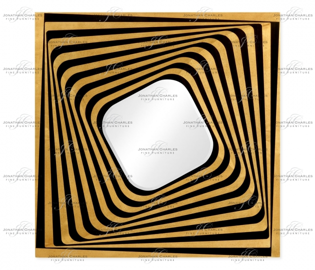 small rushmore Psychedelic Op Art Mirror