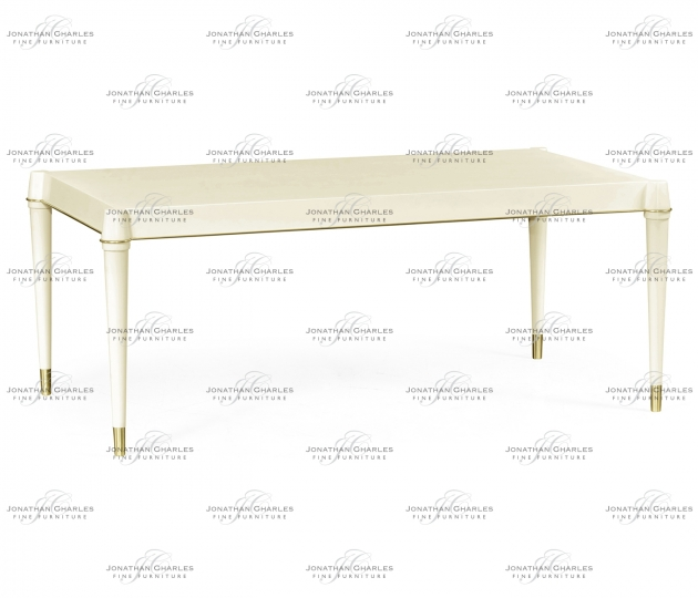 small rushmore Ivory Painted Coffee Table