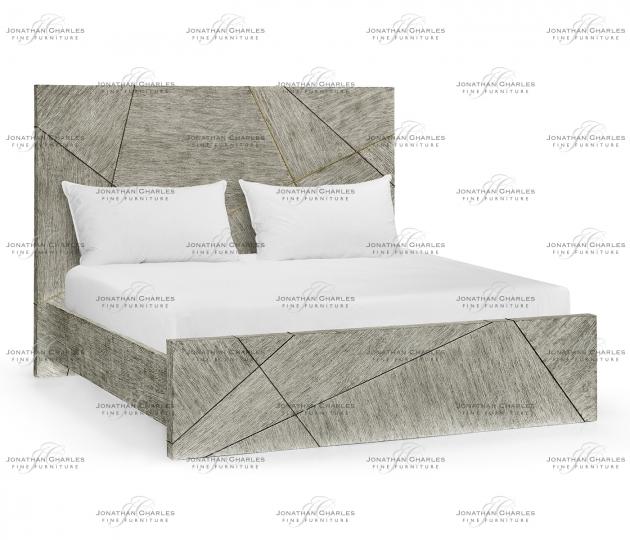 small rushmore Geometric US King Bed