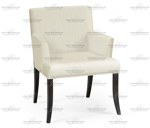 small rushmore Geometric Dining Arm Chair