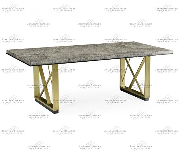 "small rushmore Geometric 84"" Dining Table"