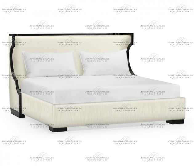 small rushmore Fusion Klismos US King Bed
