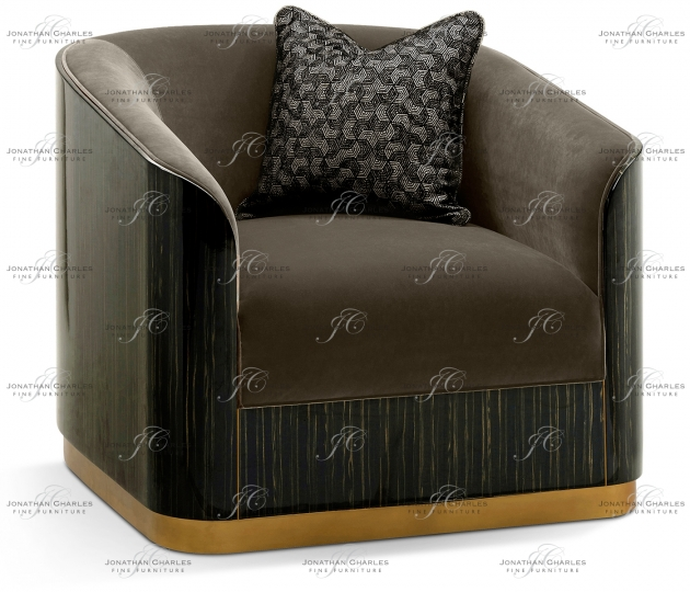 small rushmore Fusion Macassar Lounge Chair