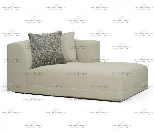 small rushmore Geometric Right Arm Chaise Lounge