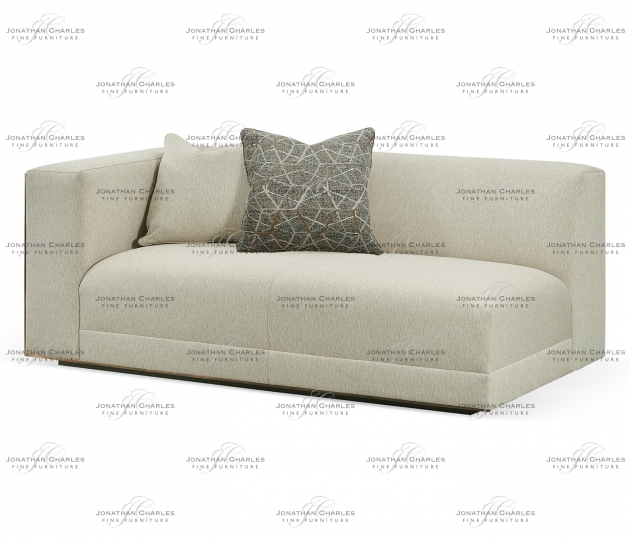 small rushmore Geometric Left Arm Sectional
