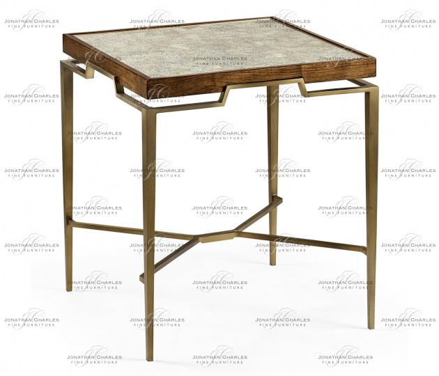 small rushmore Toulouse Eggshell End Table
