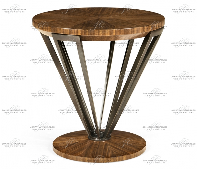 small rushmore Toulouse Round Lamp Table