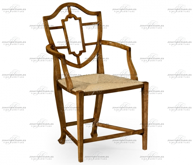 small rushmore Aveburn Grey Fruitwood Armchair