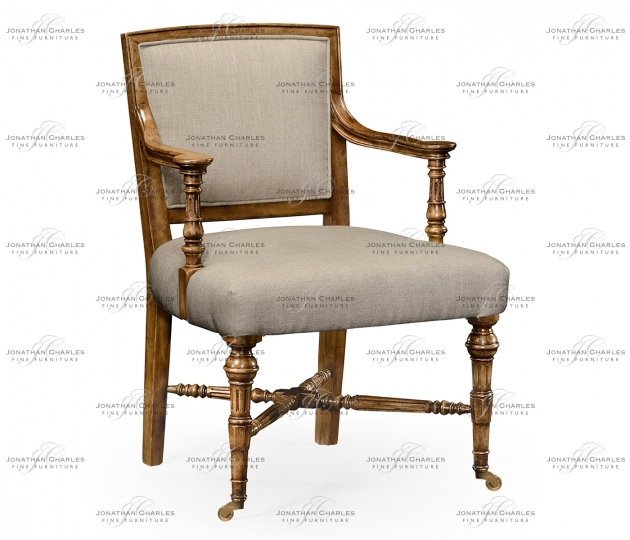 small rushmore Halwell Grey Fruitwood Chair