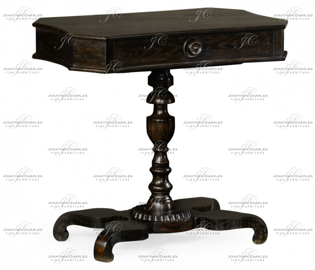 small rushmore Yarne Charcoal Wash End Table
