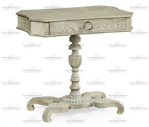 small rushmore Yarne Grey Oak End Table