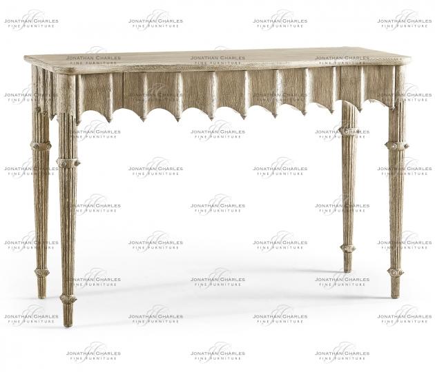 small rushmore Artaross Grey Oak Console Table