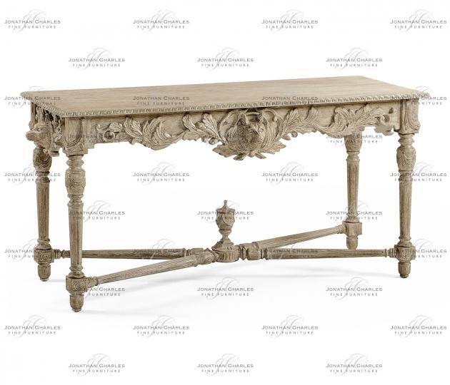 small rushmore Godwyn Grey Oak Console Table