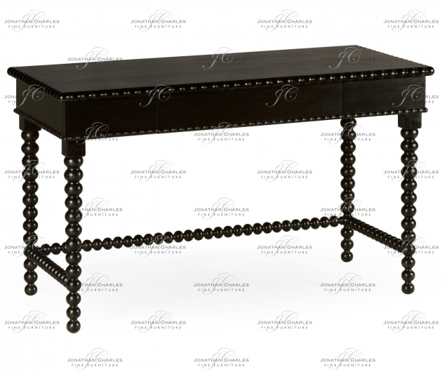small rushmore Strathraven Ebonised Dressing Table
