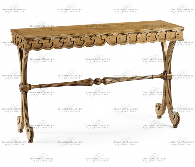 small rushmore Armadale Washed Oak Console