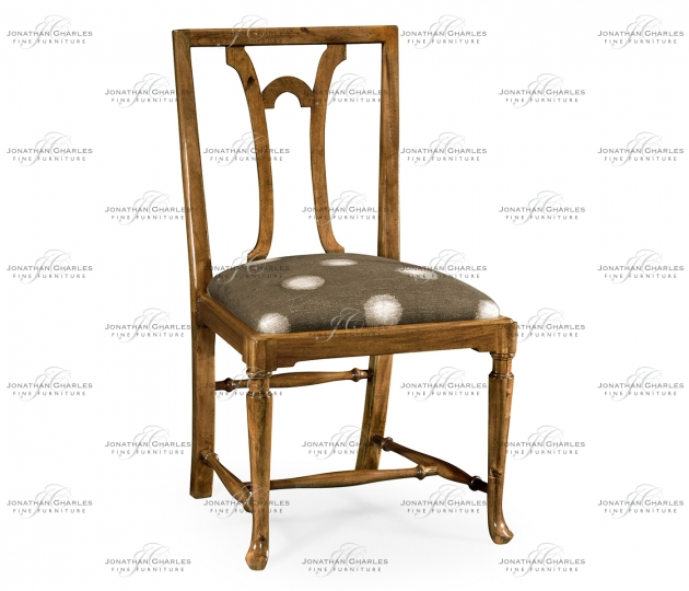 small rushmore Lewellen Grey Fruitwood Side Chair