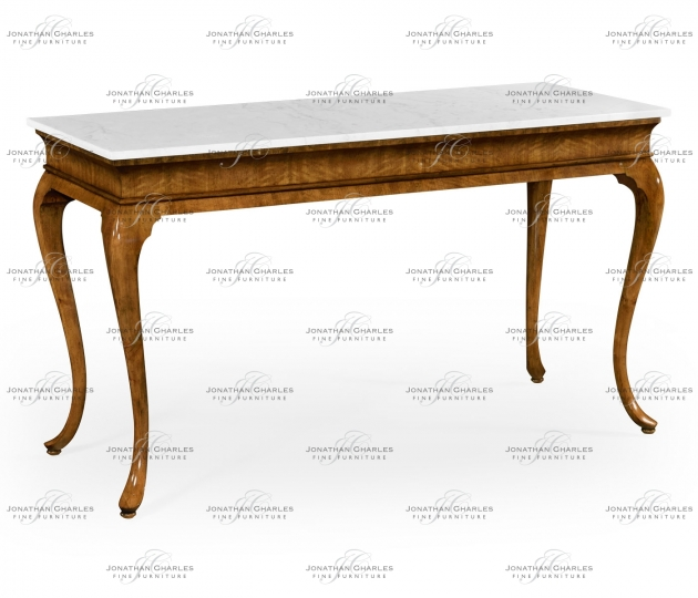 small rushmore Marquette Grey Fruitwood Console Table