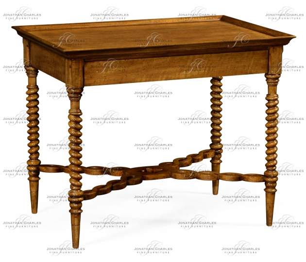 small rushmore Rosston Grey Fruitwood Table