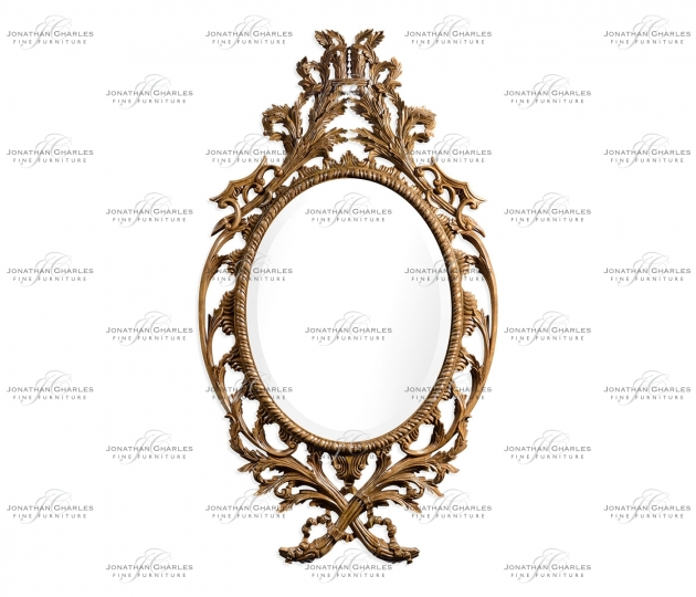 small rushmore Leicester Sunwashed Mahogany Mirror