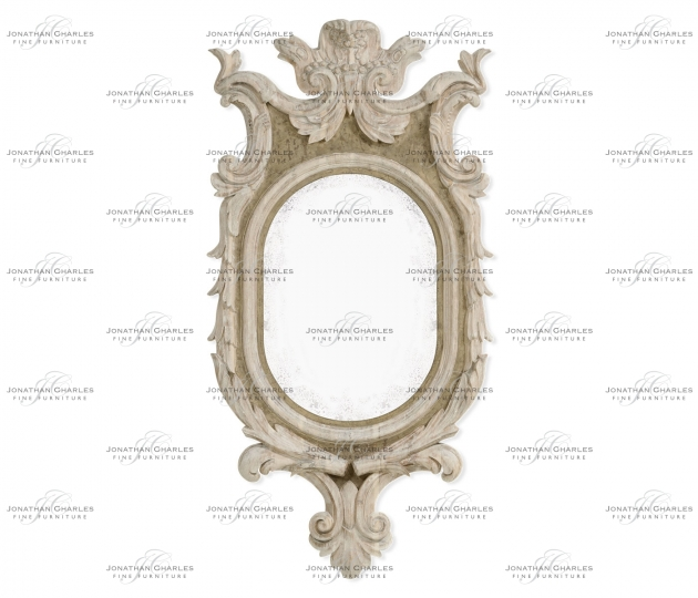 small rushmore Bywater Washed Acacia Mirror