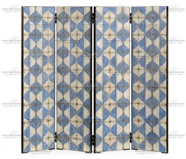 small rushmore Octavian White & Blue Screen Panels