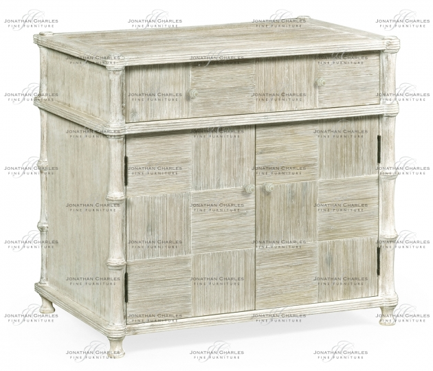 small rushmore Bywater Washed Acacia Cupboard
