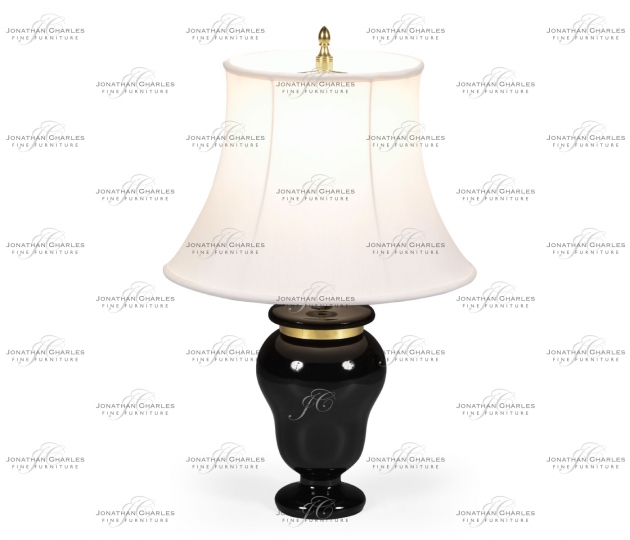 small rushmore Black & Brass Urn Table Lamp
