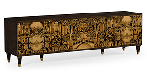 Dark Gold-Walnut-TV-Cabinet